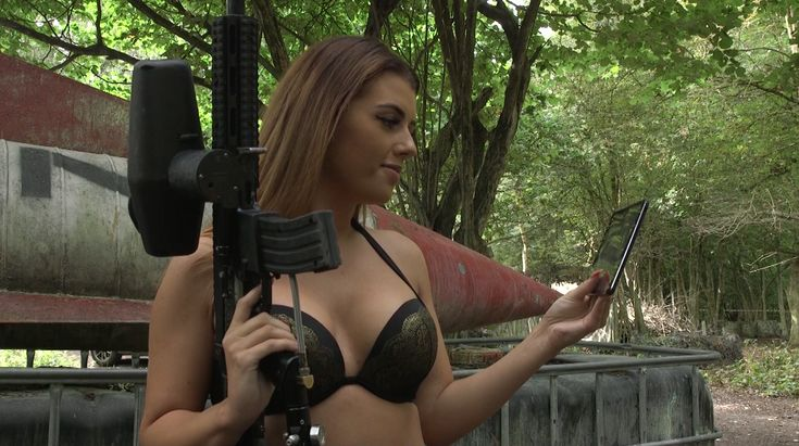"Repo Man Uncut  Should have found a better hiding place!   Watch The Repo Man Uncut now on Amazon Prime !   #amazon #amazonprime #repomanuncut #reposessions #deptcollector #paintball #bikini #hot #sexy #pain #hurt #guns   Follow now on Facebook, Instagram & You Tube just search ""Repo Man Uncut"