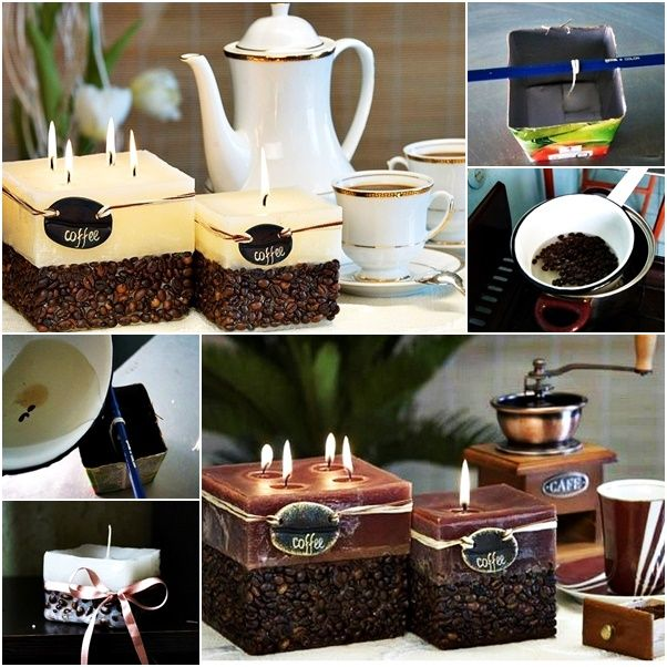 How to DIY Scented Coffeebean Candle tutorial and instruction. Follow us: www.facebook.com/fabartdiy