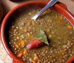 Spanish Lentils Recipe (Lentejas) by costablog.com