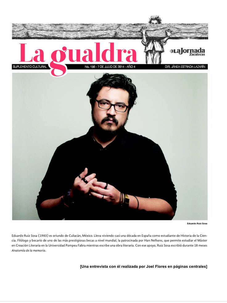bUNKER 84: Escribir sobre la memoria y la violencia, entrevista de Joel Flores a Eduardo Ruiz Sosa.