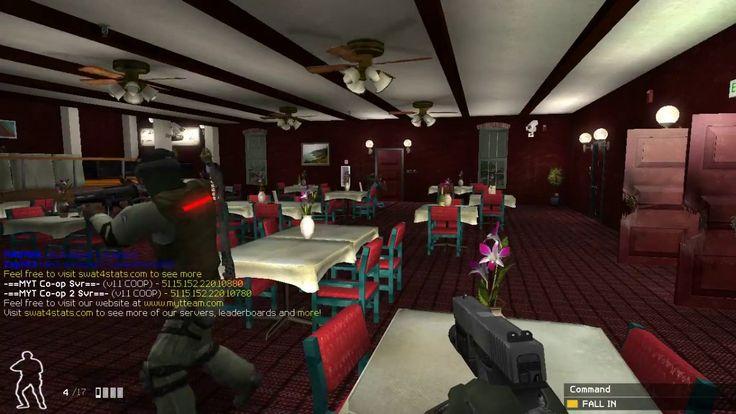 SWAT 4 Dark Scarlet Restaurant New Custom maps ( Multi player ) coop