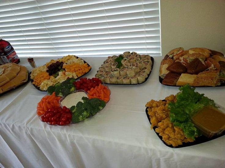 Publix catering platters
