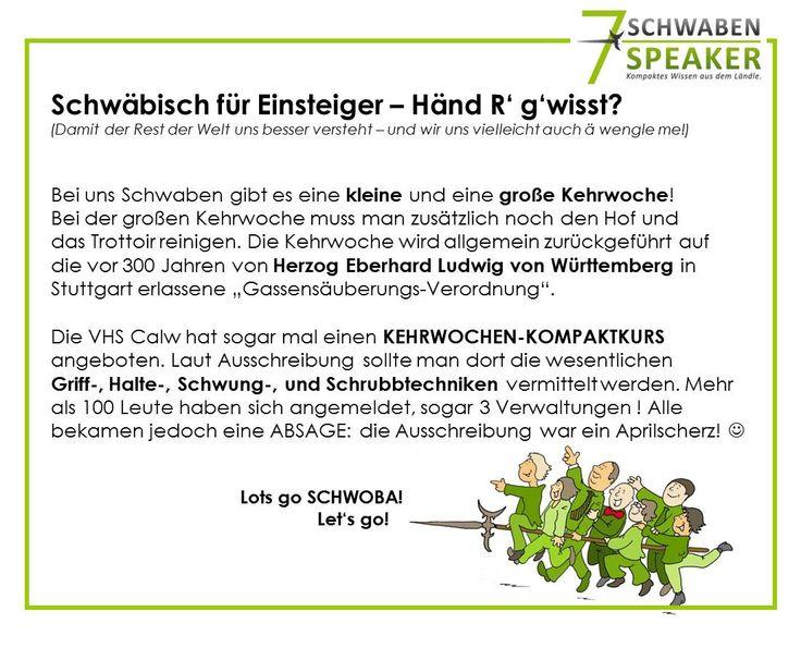 Schwäbisch für Einsteiger by 7 SCHWABEN SPEAKER
