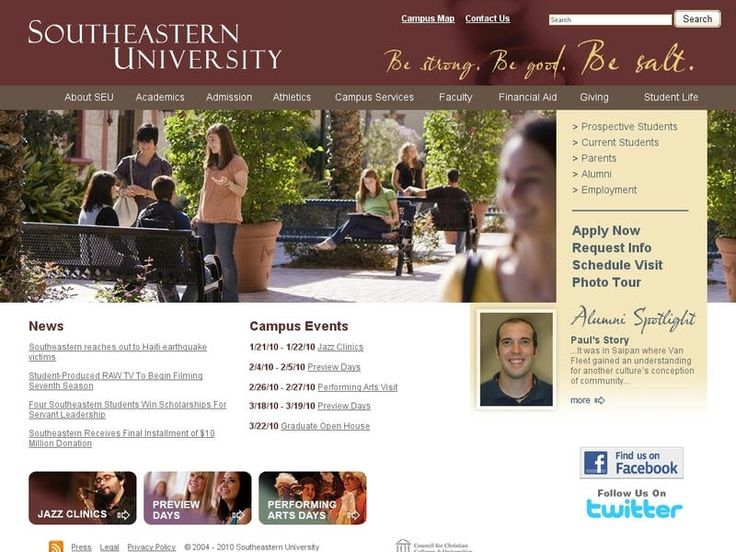 Southeastern university application essay