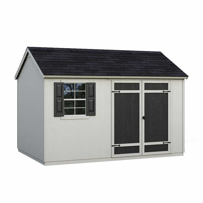 Installed Sheds By Yardline Aberdeen Shed 8 X 12 In 2020 Wood Shed Kits Shed Wood Shed Plans
