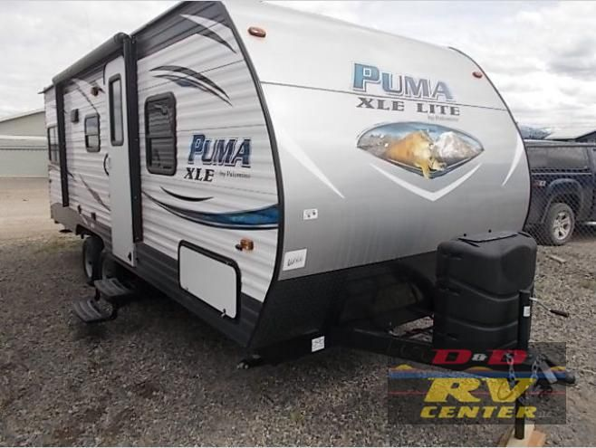 New 2017 Palomino Puma Xle Lite 20rdc Travel Trailer At D D Rv
