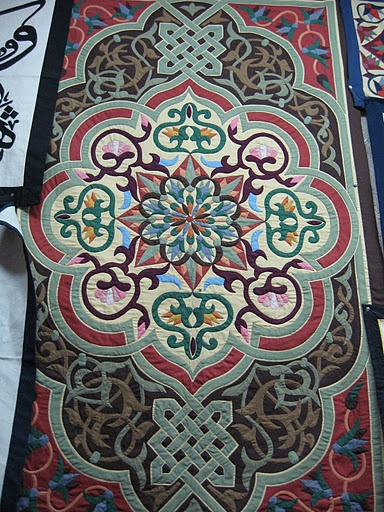 Cairo Tentmaker Applique.... how gorgeous! I love the colors in this one!