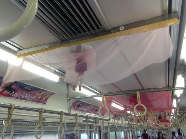 画像 : 電車の中吊りが消える?だけど頑張ってます!衝撃の車内広告まとめ - NAVER まとめ