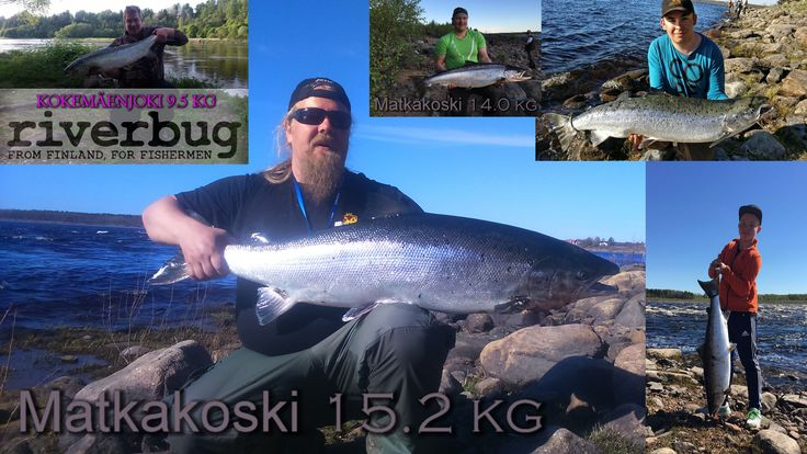 RiverBug tube flies have been working out well in Finnish and Swedish Waters so far on season 2017. #riverbug #rivertube  www.riverbug.fi