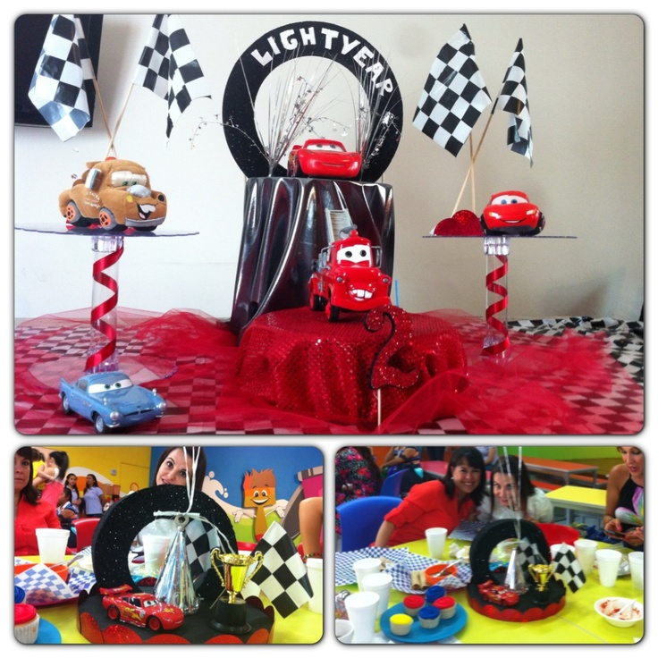 Fiesta de cars decoraci n cars pinterest fiestas - Ideas decoracion fiesta ...