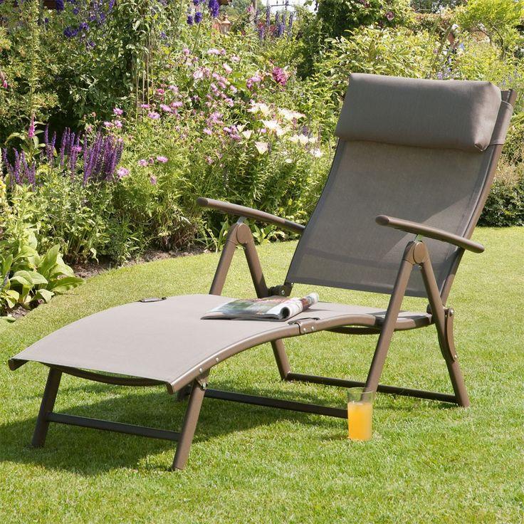 Suntime Havana Mocha Reclining Sunlounger   Garden Furniture. 21 best Garden ideas images on Pinterest