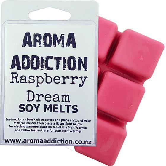 Raspberry Dream Scented Soy Melt Pack  Aroma Addiction
