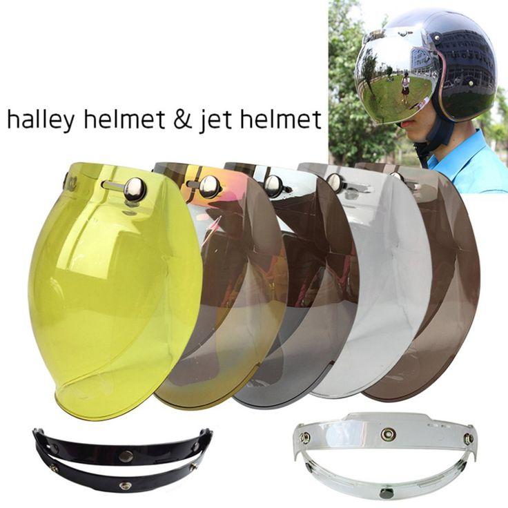 sale motorcycle windshield helmet vintage style helmets 3 snaps jet helmet for harley style helmet 2 #harley #windshield
