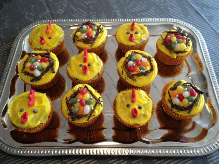 Påske cupcake