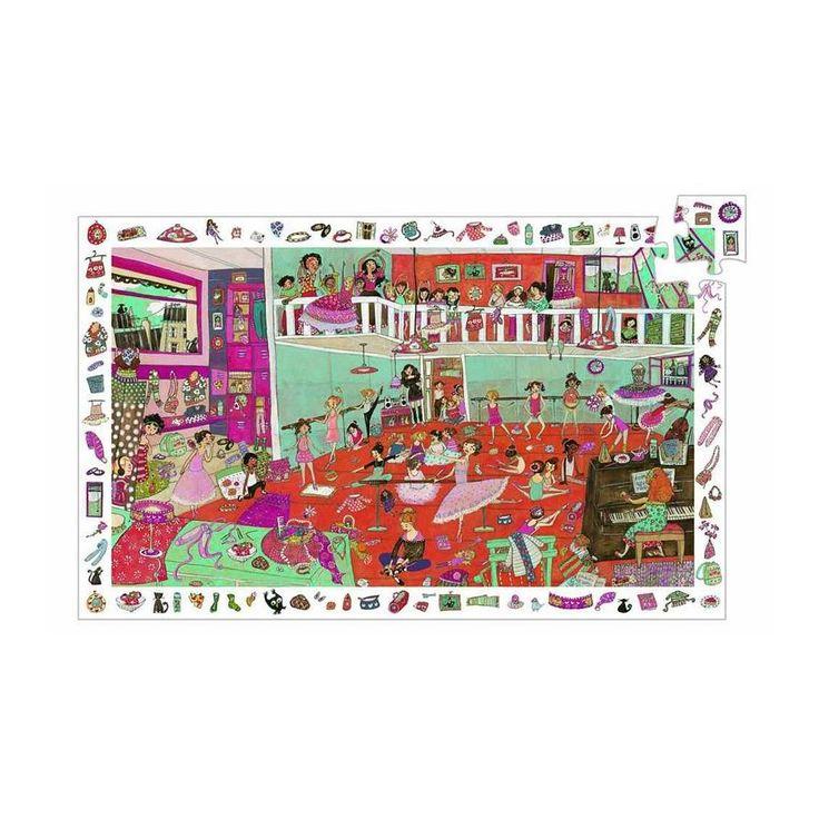 Výsledek obrázku pro janod puzzle baletni skola