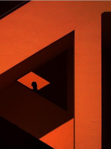 stair: Orange Stairs, Architecture Arches, Art Design, Graphics Design, Design Illustration, D Graphics, Aarepins Art