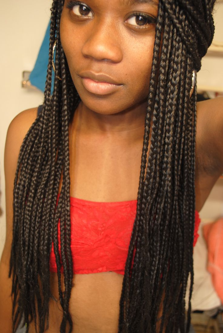 long box braids   Tumblr   Hair   Pinterest