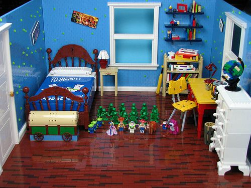 15 Insane LEGO Creations Andyu0027s Room From Toy Story.