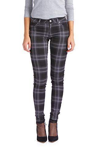 e962a41280b79 The perfect Suko Jeans Suko Jeans Women s Plaid Skinny Jean Tartan Pants  Power Stretch Denim Women s Fashion Clothing online.   29.99 - 39.99   nanaclothing ...
