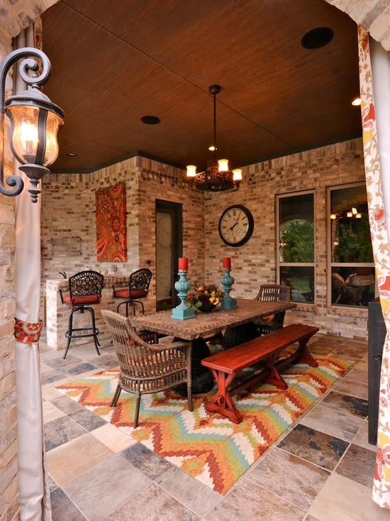 Patio Navajo Print Design, Pictures, Remodel, Decor and Ideas - page 2