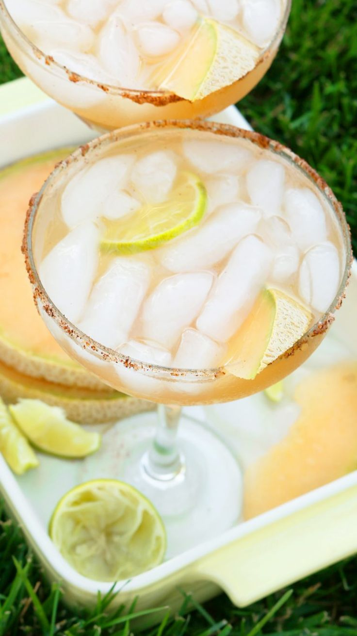 Sweet, fresh, simple, refreshing margaritas perfect for your summer barbecues. It's Margarita Tuesday! Yessss. Yes. Perfect for today or all summer long. Fruity margaritas <– my favorites. Mmmm…Pineapple Chili Margarita Skill level – Easy Cantaloupe Margaritas Ingredients: 1 cup cantaloupe juice 1/2 cup tequila (4 ounces) 1/4 cup triple sec (2 ounces ) 1/4 cup …