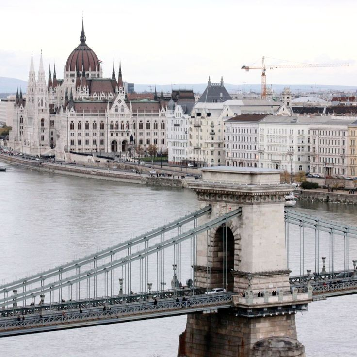 Hungary Budapest straddles the Danube with its two constituent parts on opposite banks, Buda and Pest.