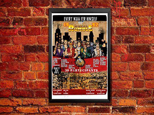 1992 Royal Rumble Vintage Main Event Poster. 5th Annual Royal Rumble Featuring Rowdy Roddy Piper, Macho Man, Hulk and More ZanzibarLand http://www.amazon.com/dp/B01BJ8DXMI/ref=cm_sw_r_pi_dp_qnRTwb0XS6BSQ