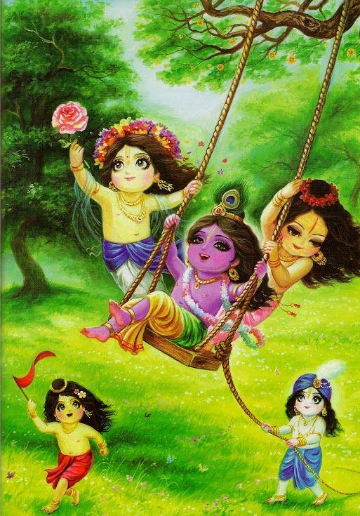 Krishna Radha Love Cartoon Images - cartoon image