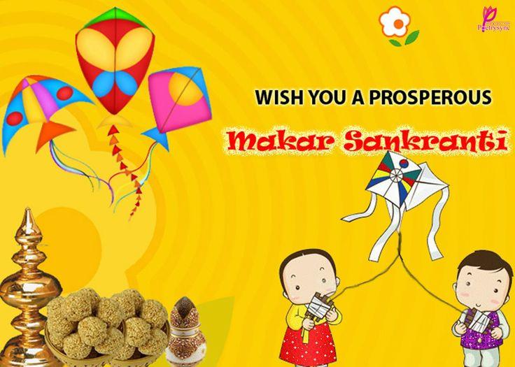 Makar Sankranti Wishes Card Image Wallpaper