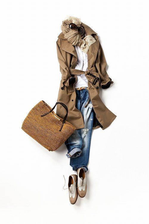 Trench & Jeans casual