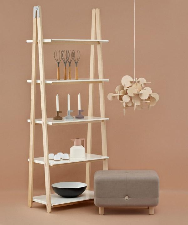 One Step Up Bookcase, Bau Lamp, Sumo Puff.... Normann Copenhagen