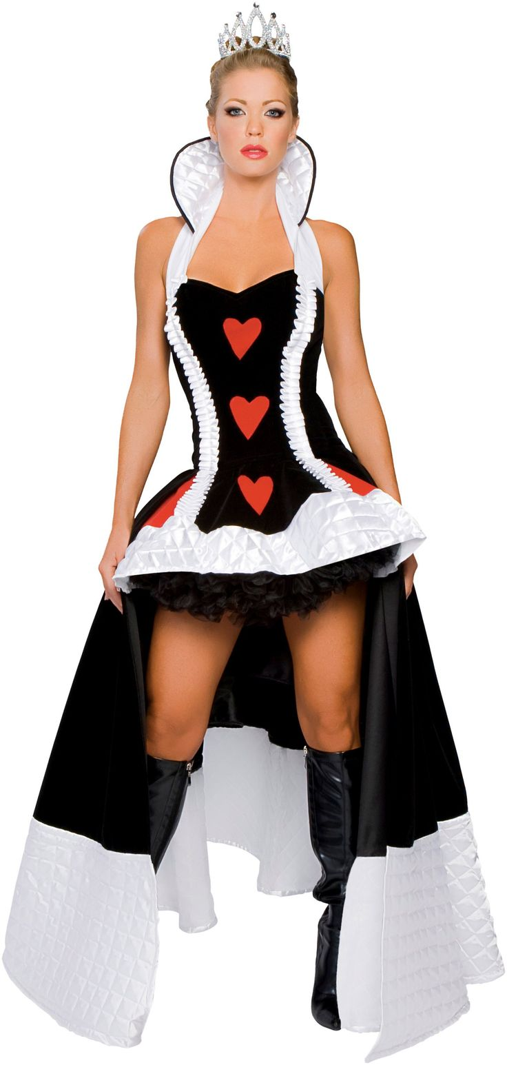 queen of hearts running costume - Google Search