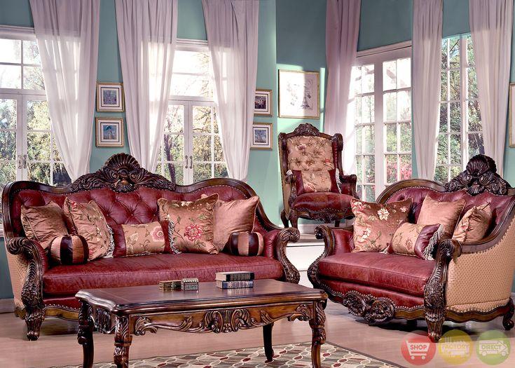 46 best homey design on pinterest images on pinterest for Formal leather living room furniture