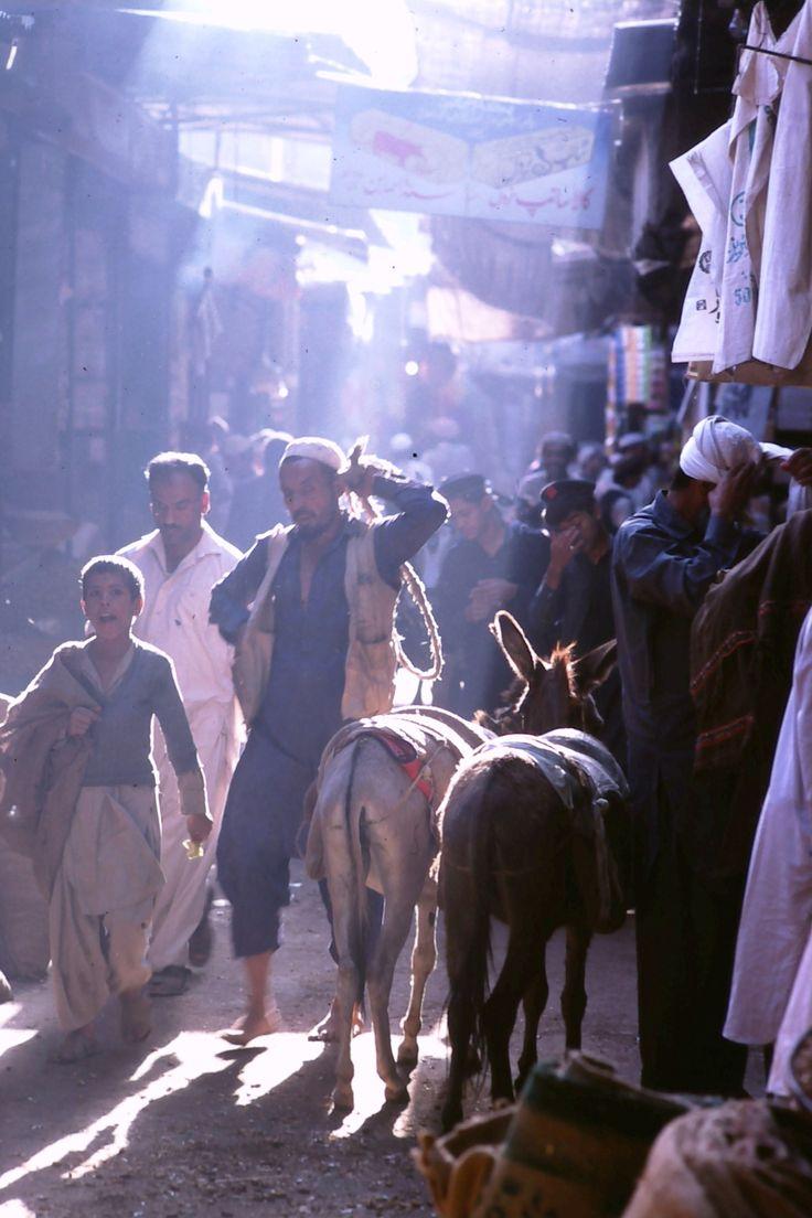 Peshawar bazaar by Gary Hawke