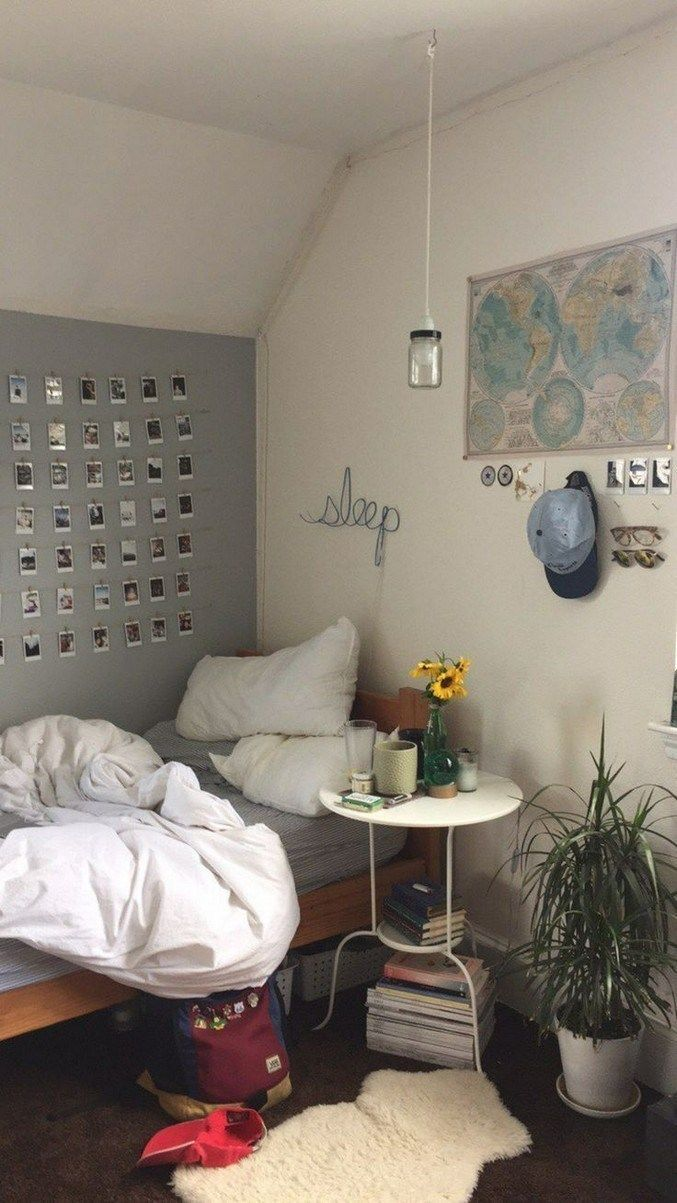 15 Comfy Small Bedroom Ideas 34 Homedesignss Com Grey Room Decor Living Room Decor Gray Small Bedroom Gray aesthetic room pictures