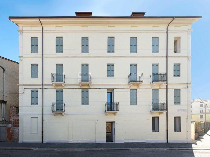 Basculante facciata esterna intervento vicenza p casa - Facciata esterna casa ...