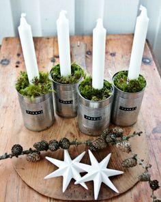 tin advent wreath