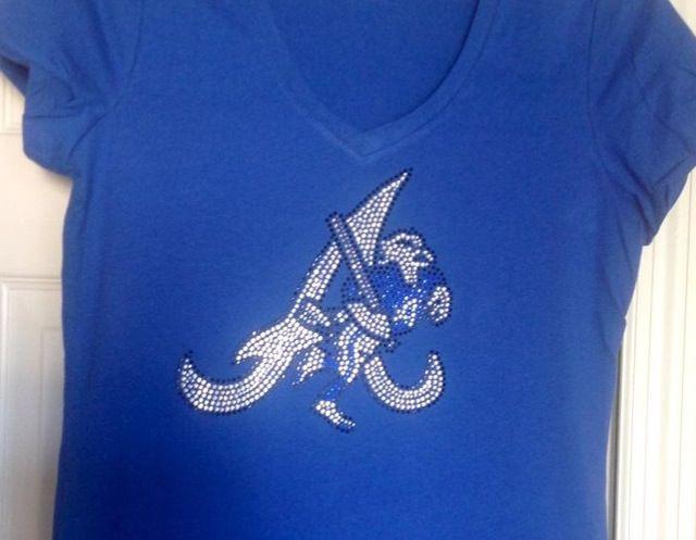 Apopka Blue Darters baseball logo bling shirt. I love this design and ...