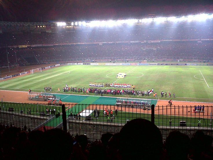 Gelora Bung Karno Stadium, jakarta, indonesia. #stadium #indonesia