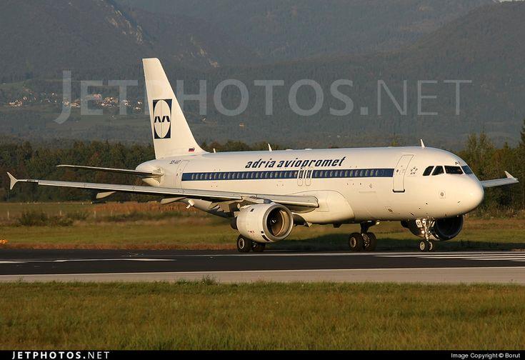 """Adria Airways Airbus A320-211 """"RetroJet"""""""
