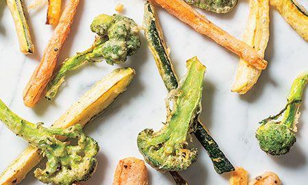 Puede usar los vegetales de su gusto: pimentón, espárragos o portobellos
