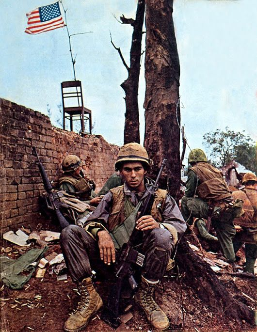 more about the infamous 1968 tet offensive The tet offensive began on january 30, 1968 immediately thereafter, americans began to see the results of fighting and gruesome combat footage on their television screens the news became more and more upsetting this image, by photographer warren k leffler, depicts a couple watching televised.