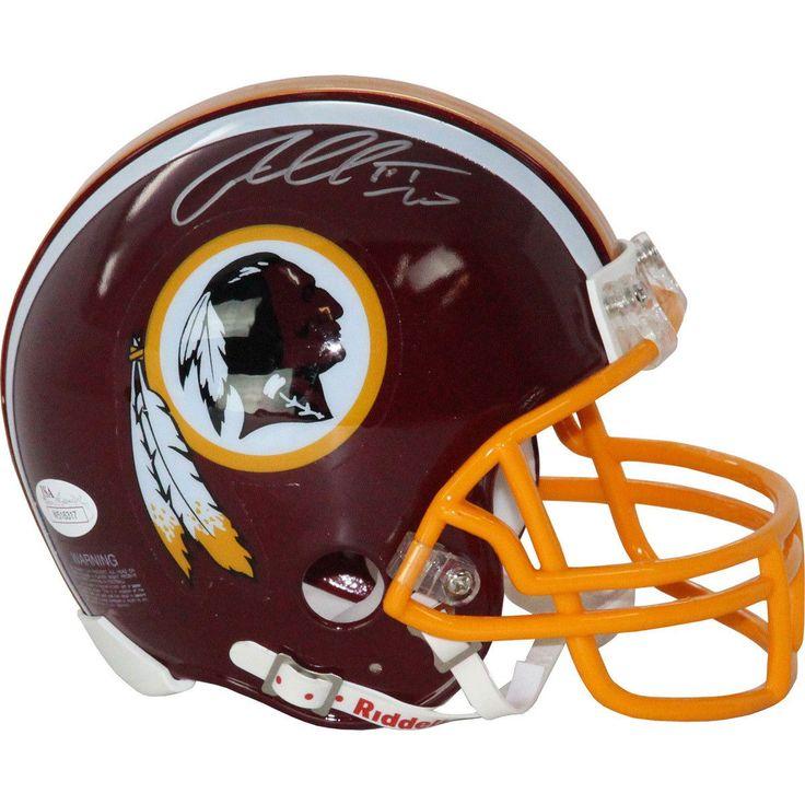 Robert Griffin III Signed Washington Redskins Mini Helmet (JSA)