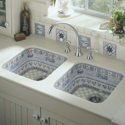 Beautiful kitchen basins