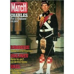 Paris Match - n°1537 - 10/11/1978 - Prince Charles : Prêt à remplacer son père [magazine mis en vente par Presse-Mémoire]