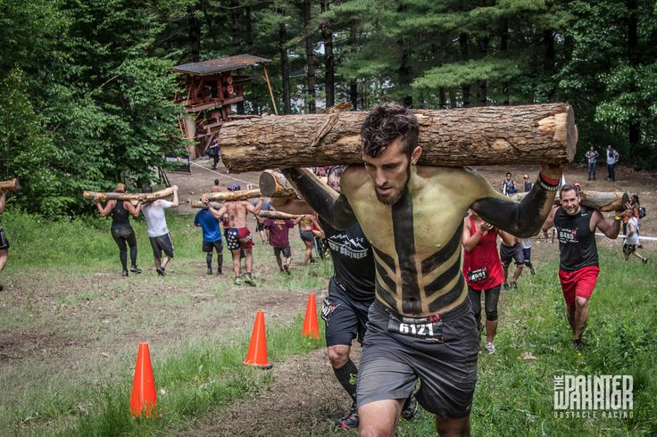 The Painted Warrior at the Spartan Sprint in NY, 2013.