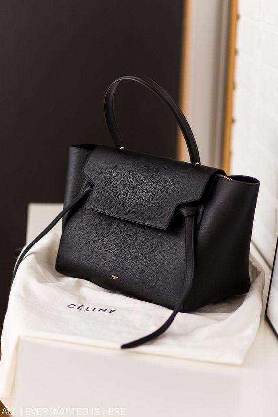 603aa3a549b8 CELINE Handbags Casual Style A4 2WAY Plain Leather Luxury Brand Bag Handbags  2