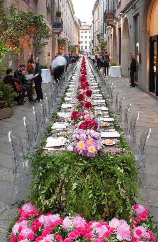 Fuori Expo 2015: Kartell at exclusive dinner Mille Spighe per una Guglia