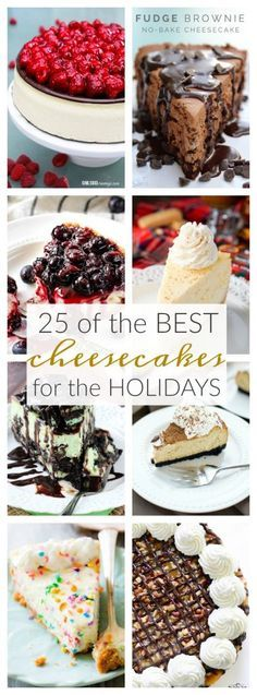 25 of the Best Cheesecakes for the Holidays