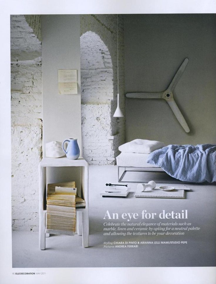 122 best editorials images on pinterest elle decor bed for Elle decoration bed linen